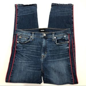 Hudson Zoeey High Rise Ankle Straight Jeans S 29
